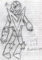 (DRAW) Lovely Star Man by Thunderblade2001