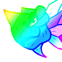 Rainbow Fish Thing by AxisofDestruction
