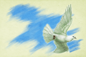 Dove of Peace by TheMeekWarrior