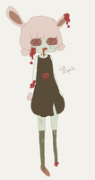 Zombie Bunnu Girl - CLOSED by PAPADOLL