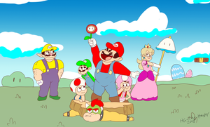 SUPER MARIO SHOW COMING TO CARTOON NETWORK 2019 by HG-The-Hamster