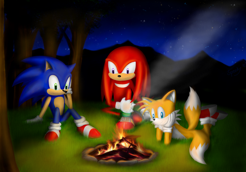 By The Fire by Speedy1236