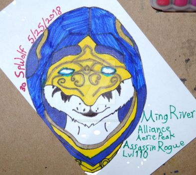 Ming River Business Card by SpellboundFox