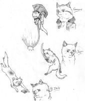 Hetaoni: Axis Cats by nightwindwolf95