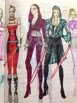 2005 Star Wars Ep 9 Arden Il costumes by Selinelle