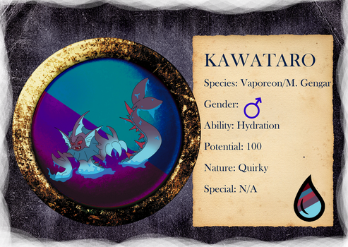 PARPG Kawataro Reference - Level 2 by NataliaDriscol