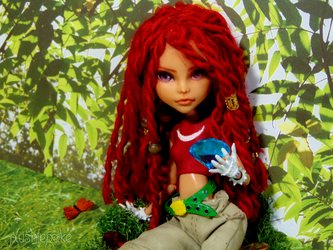 OOAK MH Knuckles Doll by PlushiePoke
