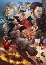 Uncharted 3 by PatrickBrown