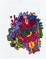 Sharpie Doodle Collaboration 2 by graffitica