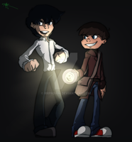 Young Johnny Ghost and Toast (Story idea) by RRproAni