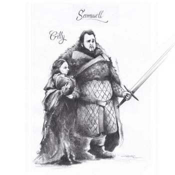Samwell Gilly by ChrisBMurray