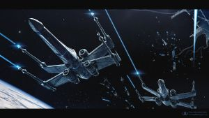 Star Wars: Fighter by ourlak