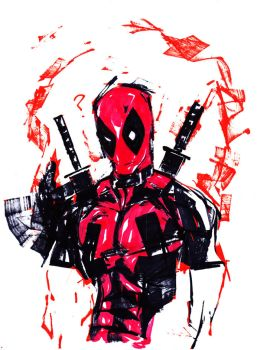 DEADPOOL by Millus