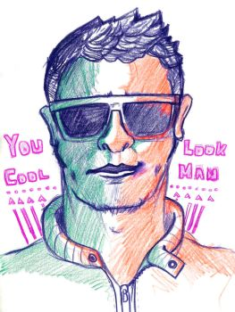 You Look Cool Man by kilky18