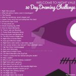Welcome to Night Vale 30 Day Drawing Challenge by Dwaleen