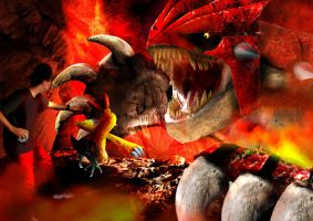 real life pokemon: Groudon by badafra