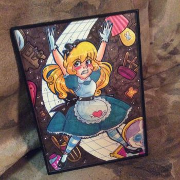 Alice in wonderland by MaryBellamy
