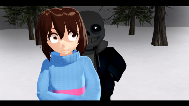 Undertale MMD: First impressions? by Spaztique