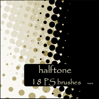 halftone brushes by szuia