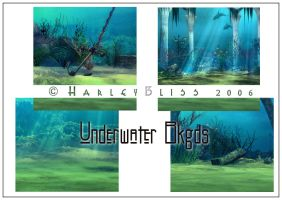 Under-water Bkgd by HarleyBliss