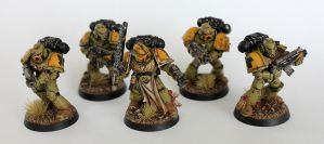 The Badab War: Mantis Warriors Combat Squad by Pfreck