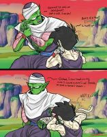 Piccolo and Gohan - I will fix it! by TheBombDiggity666