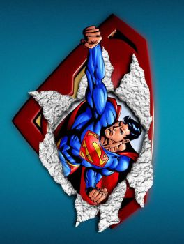 superman ripp by strech1