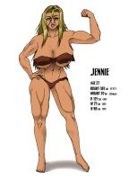 Jennie Character Sheet by Lewdster