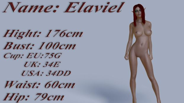 Elaviel - Measurements by mrmorfium