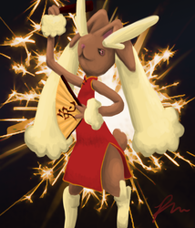 Year of the Lopunny by MidoriFlygon