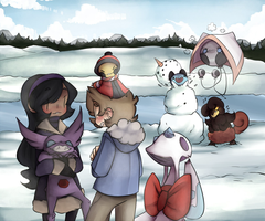 PKMNation: A Snowy Suprise by alsoword
