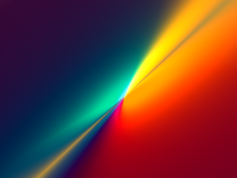 Rainbow Plane by xargs
