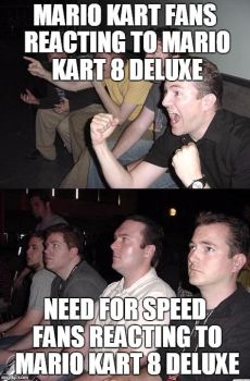 Mario Kart Vs Need For Speed Part 1 by CarreraX