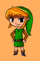 Wind Waker Link Alttp by ellenent