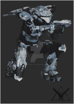 HALO REACH - KAT-B320 by NaturesPlaything