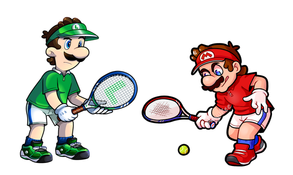 Collab: Tennis Bros. by Nintendrawer