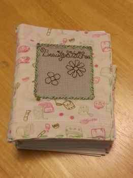 BCD: Flowers Mini Blank Book 3 by t0pd0g4evr