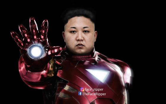 Kim Jong Iron by Thefaceripper