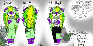 Thor :ref sheet: by Doodle-Trash