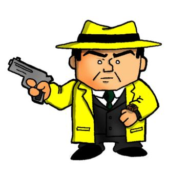 Dick Tracy Color version by houseofduck