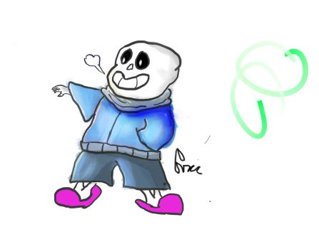 Sans Painting (OLD) by Zalonio