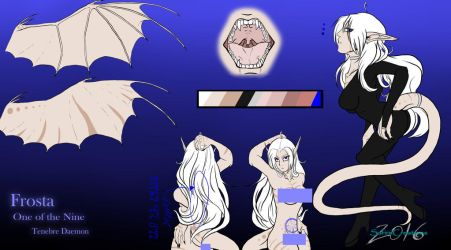 Frosta Tenebre :Reference Sheet: by SafireCreations