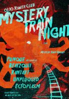 Mystery Train Night Poster by Zele-Rebus