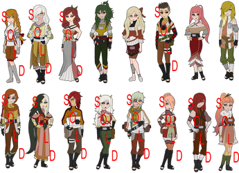 Sushi Roll Naruto Collab Adoptables by zombie-adoptables