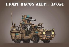 Light recon jeep by Vaessili