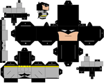 Batman Papercraft by DibujarteRiestra