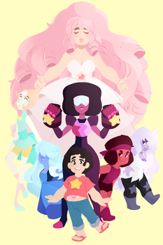 We Are the Crystal Gems! +Speedpaint by Decapitated-Kittens