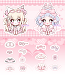 Heartpuff Auction [CLOSED]+2 EXTRAS by Pikiru