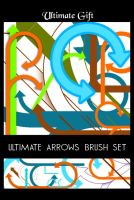 ultimate arrows brush set by ultimategift