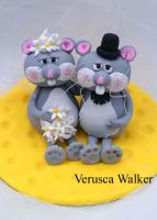 Mouse Wedding by Verusca